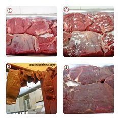 Aprenda a fazer a deliciosa carne do sol nordestina a partir da carne crua.