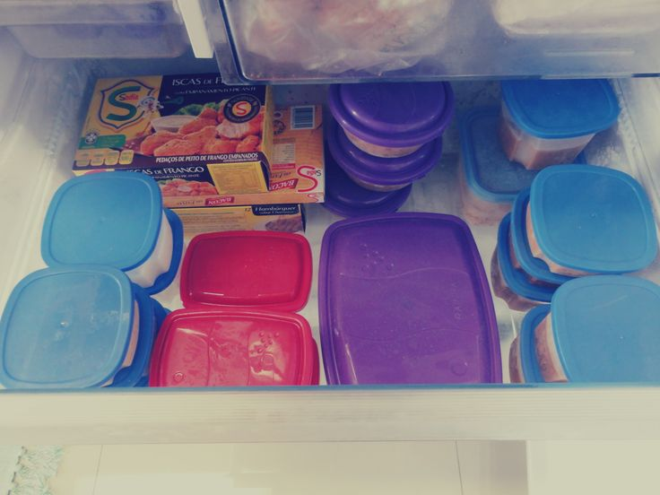 Cardápio com 30 refeições para congelar