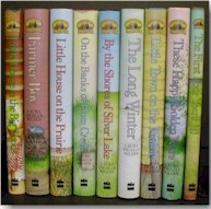 Laura Ingalls Wilder books - the first books (and character) I remember falling in love with.
