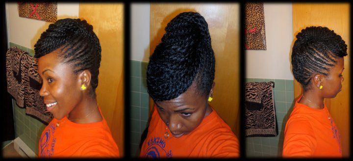 Pictures Of Two Strand Twist Hair Styles