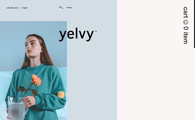 Yelvy Website by Mutt Agency  See more at WWW.TRANSFER.DESIGN  #art #beauty #branding #digital #fashion #instafollow #instagood #jewellery #style #technology #transfer #webdesign #Yelvy #Website #by #Mutt #Agency