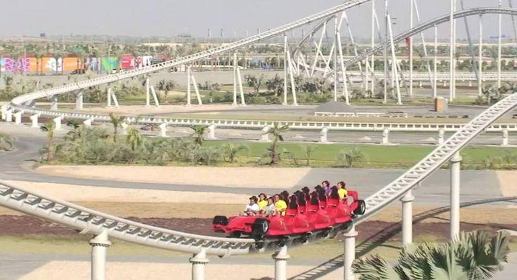 Wow! Roller Coaster di Abu Dhabi Ini Melesat 241 km/Jam