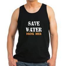 Save Water - Drink Beer Tank Top
