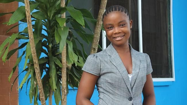 23-year-old Decontee from #Liberia survived #Ebola and is now volunteering in #ChildFund's Interim Care Centre for children orphaned by Ebola. Click the link to read her inspiring story!