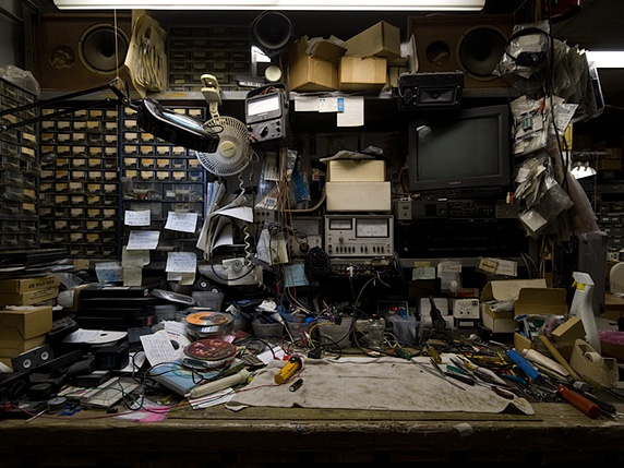 "From photographer Joseph O. Holmes's ""Workspaces"" series."