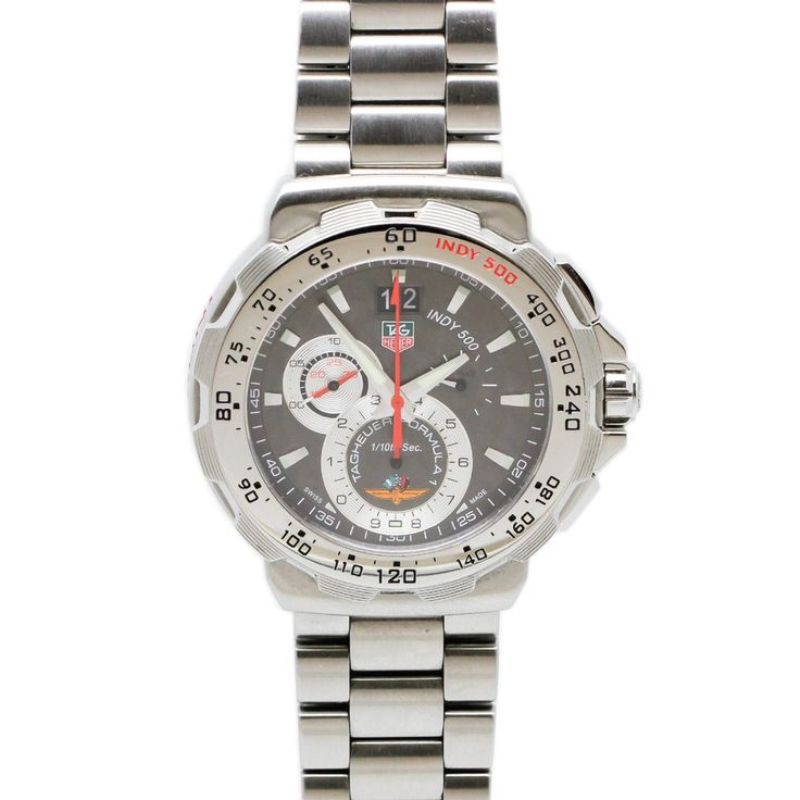TAG HEUER Formula 1 Dial Chronograph Anthracite Stainless Steel Men's Watch