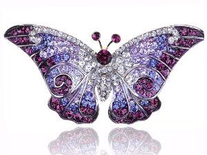 :): Monarch Purple, Crystals Rhinestones, Swarovski Crystals, Rhinestones Pin, Purple Wings, Empress Monarch, Wings Butterflies, Pin Brooches, Butterflies Swarovski