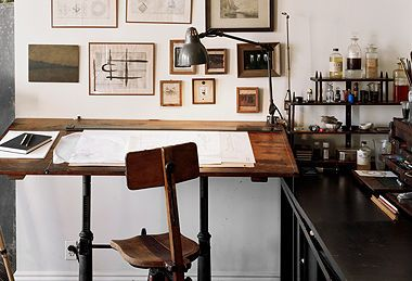 Vintage Art & Decor with a Loft-y Vibe