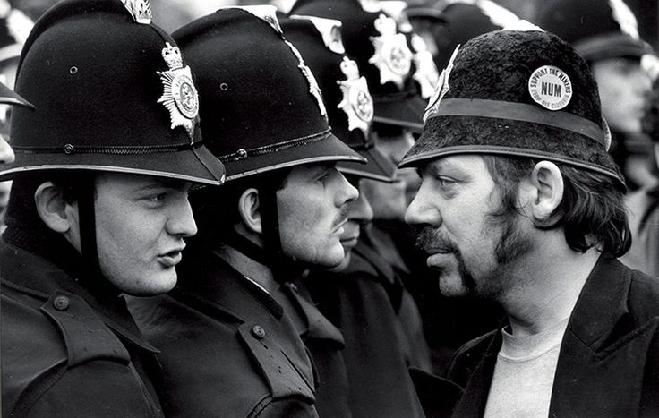 Miner's Strike, Orgreave coking plant, 1984Photograph: Don McPhee for the Guardian