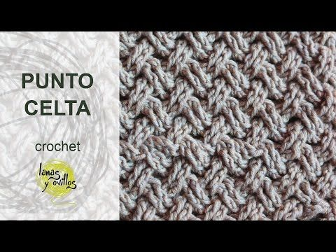 Tutorial Punto Celta Crochet o Ganchillo - http://www.knittingstory.eu/tutorial-punto-celta-crochet-o-ganchillo/