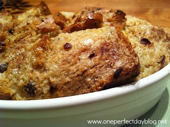 Best ever Bread and Butter Pudding. Simple recipe and perfect comfort food.