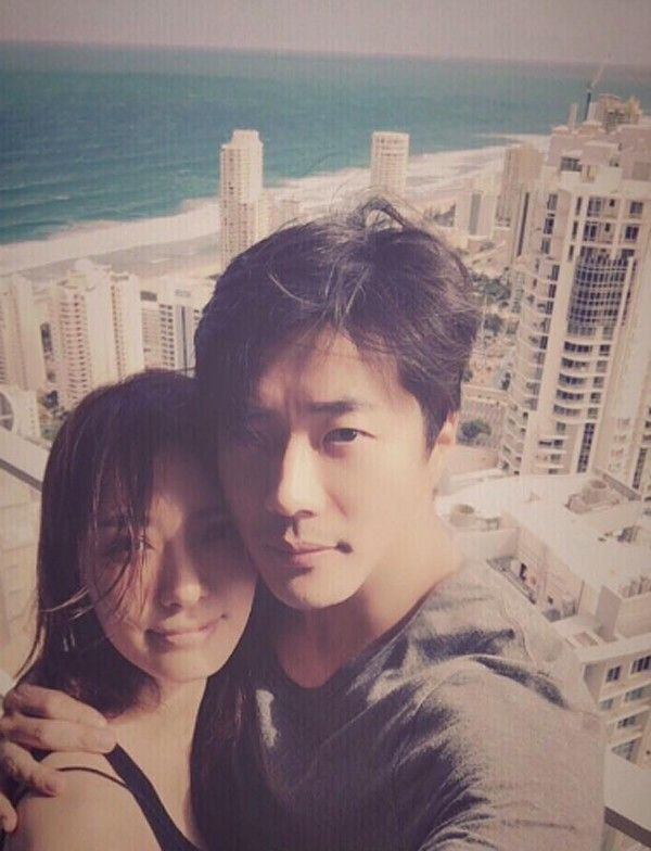 kwon Sang-woo and Son Tae-yeong, married for eight years, show off affection for each other