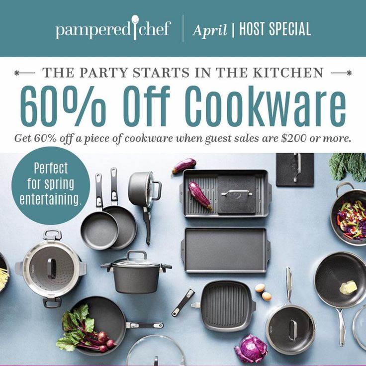 Pin on Pampered Chef April 2019 Host Specials