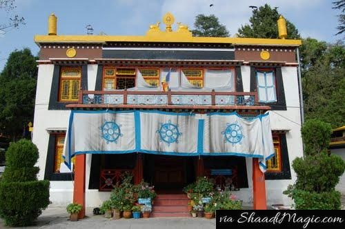 Tibetan Monastery Every mist of valley in India has a destiny like a Tibetan Buddhist monastery with a peaceful atmosphere and religious acts is worth witnessing.