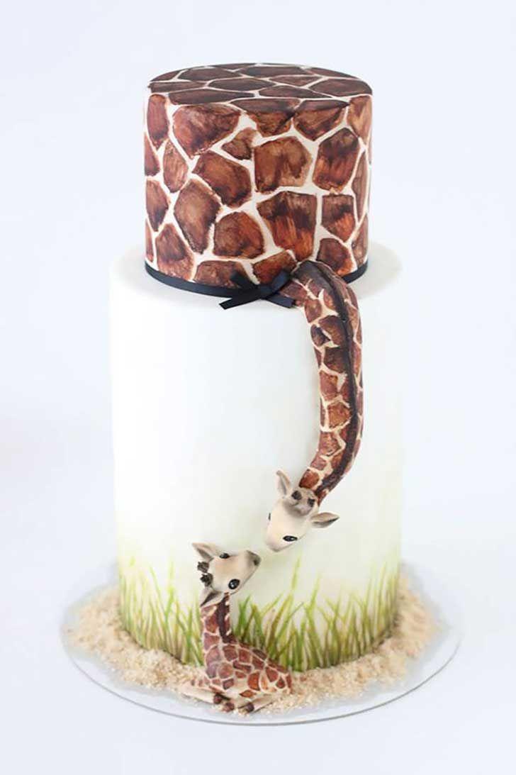 Pastel jirafa