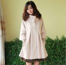 ventas calientes primavera otoo e invierno slido ocasional ropa de maternidad caliente capa de