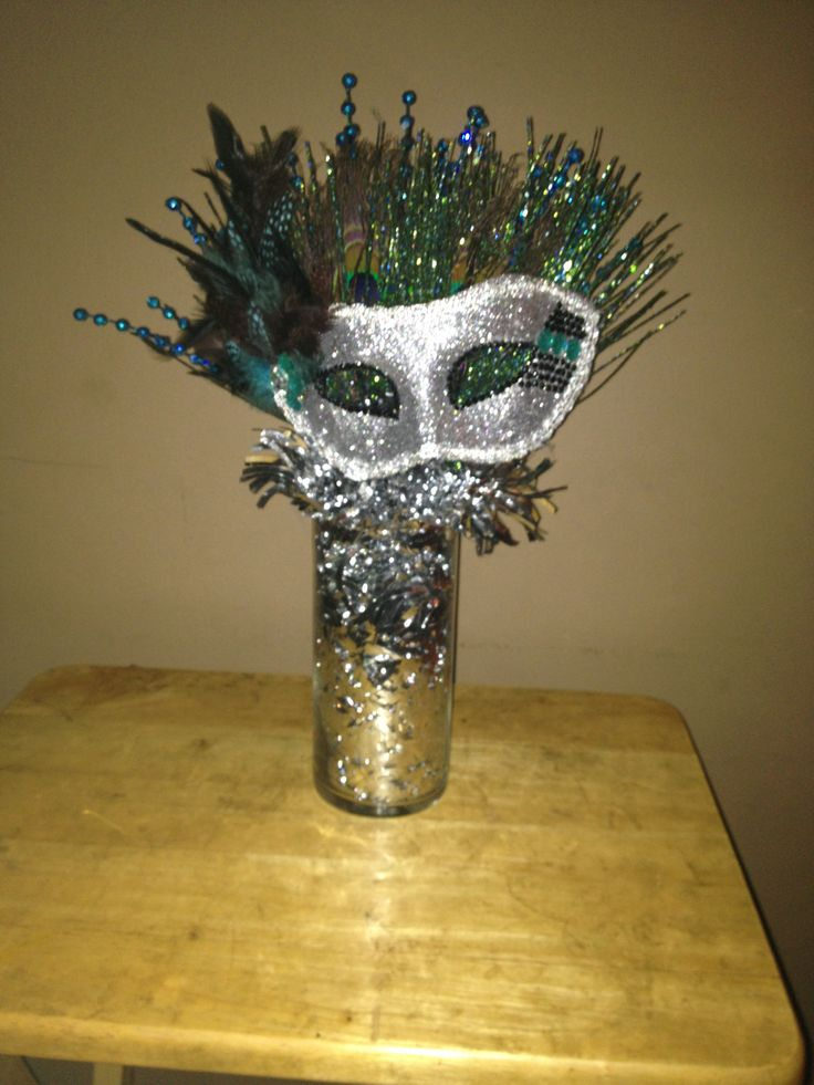 Made these for a Sweet 16 Masquerade Birthday party