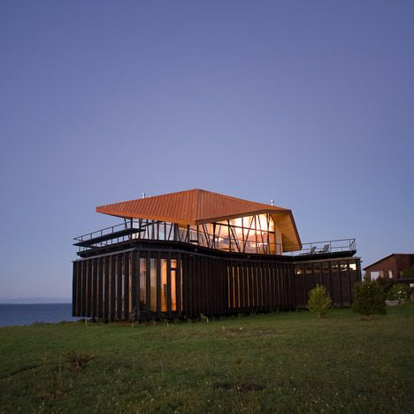 House At Punta Chilen on the Island of Chiloe in Chile by dRN Architects
