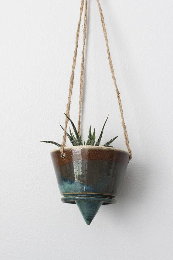 Handmade Ceramic Hanging Planter