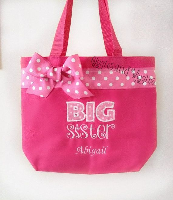 Hey, I found this really awesome Etsy listing at https://www.etsy.com/listing/200947641/big-sister-tote-bag