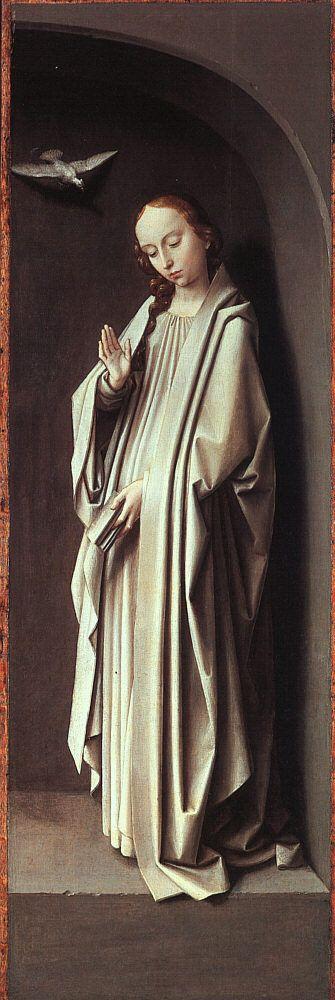 Gérard David | The Virgin Annunciate, 1500, Metropolitan Museum Of Art, NYC