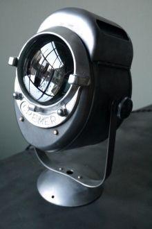 projecteur de cinema spotac cremer paris poli graphite projecteur cin ma vintage pinterest. Black Bedroom Furniture Sets. Home Design Ideas