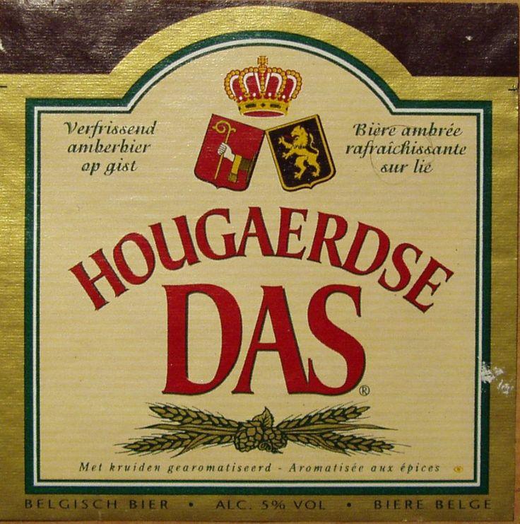 Belgian beer Hougaerdse DAS