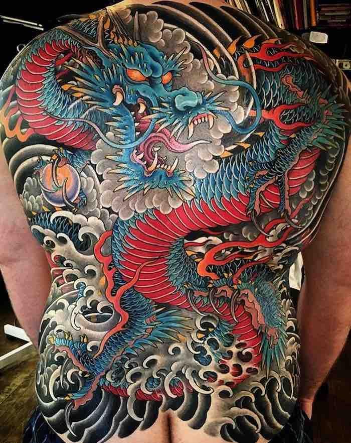 68 Best Back Tattoos Japanese Back Tattoo Japanese Dragon Tattoos Traditional Japanese Tattoos