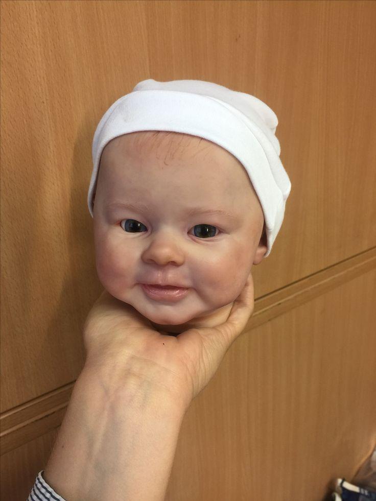 Reborn baby doll by Andrea Heeren reborn DELUXE  Work in progress