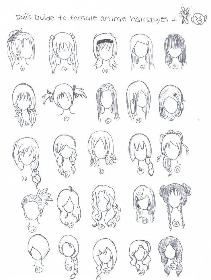 Fabulous 1000 Ideas About Anime Hairstyles On Pinterest Anime Hair Hair Short Hairstyles For Black Women Fulllsitofus