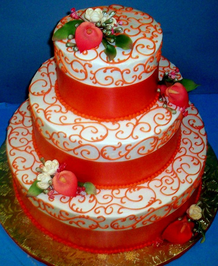 wedding cake orange orange wedding cake ideas amp inspirations wedding cake 23347