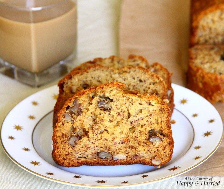 Banana Bread With Buttermilk Brown Sugar Walnuts Buttermilk Banana Bread Banana Bread Banana Bread Recipes