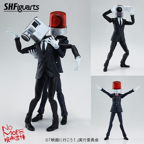 """Anti-Piracy """"NO MORE Movie Thief"""" Mascots Get Full-Scale, Posable Figures"""