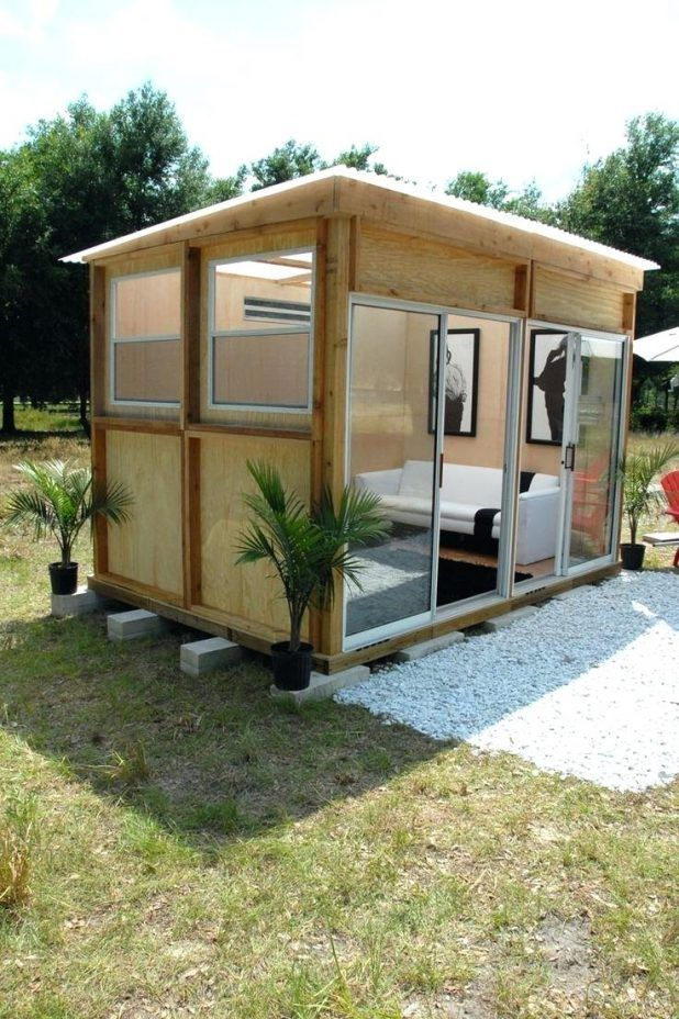 Prefab Backyard Home Office Prefabricated Backyard Office Backyard Office  Prefab Metroshed Modern Shed Cabana 9x13 49