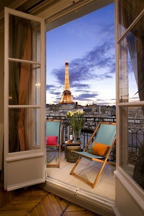 SEASONAL – SPRING – time to keep the french doors open to the warmer air in paris, france, photo via stephanie.