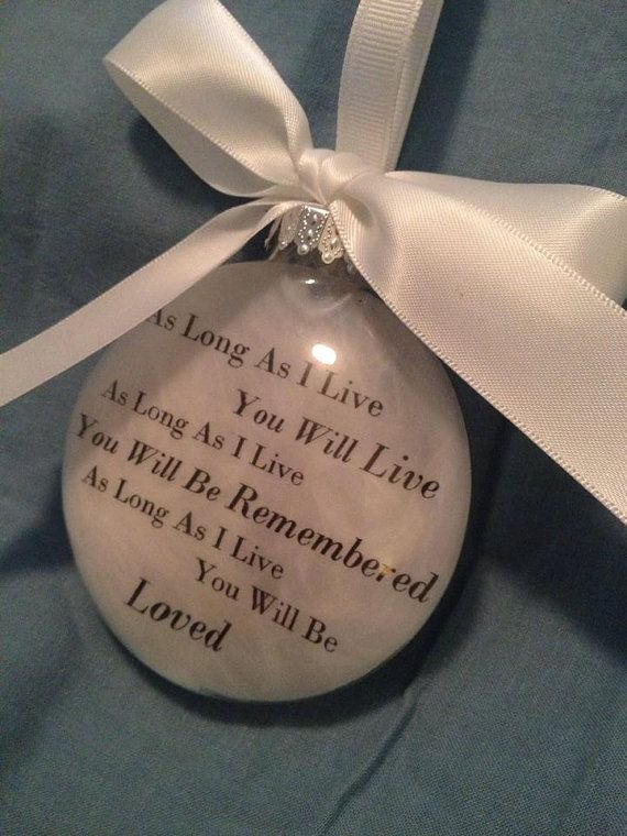 7 best Memorial Ornaments for wedding images on Pinterest ...