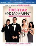 The Five-Year Engagement [2 Discs] [Includes Digital Copy] [UltraViolet] [Blu-ray/DVD] [Eng/Fre/Spa] [2012], 61120752