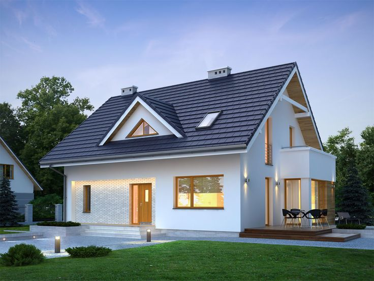Projekt domu TP Medea - DOM TP1-10 - gotowy projekt domu