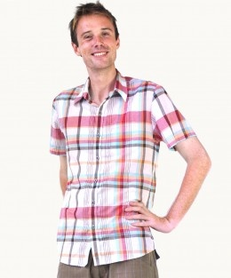 Cotton Buckskin Check Shirt