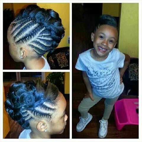 Terrific 1000 Images About Black Hair Youth Edition On Pinterest Short Hairstyles Gunalazisus