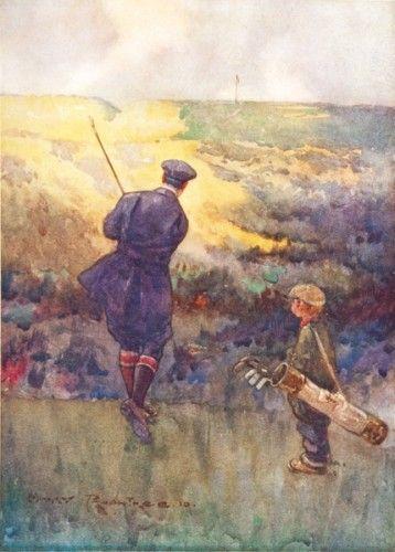 DARWIN, Bernard. The Golf Courses of the British Isles.  Duckworth & Co. 1910. #book