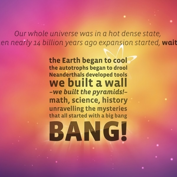 the mystery of how the universe began as explained by the big bang theory The best idea with the most observational support is the big bang theory big bang, which suggested that the universe began as a com/origin-of-the-universe.