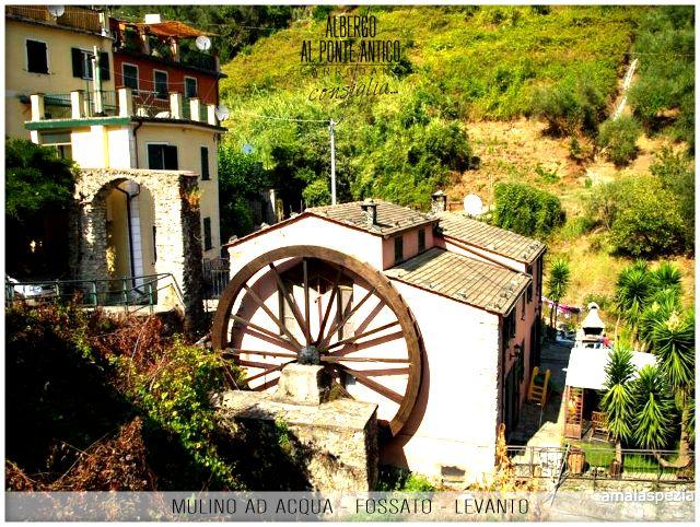 Levanto - Fossato - Mulino ad Acqua - Albergo Al Ponte Antico Carrodano - La Spezia - Liguria