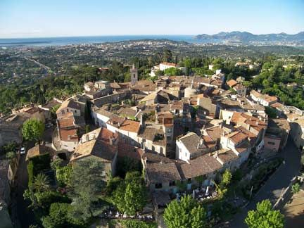 Mougins  Panoramic Visit