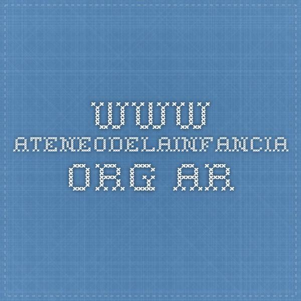 www.ateneodelainfancia.org.ar