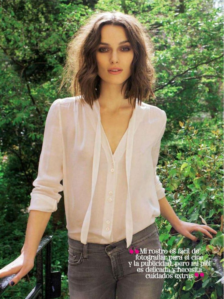 Keira Knightley - Glamour Spain - March 2013
