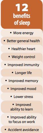 12 benefits of sleep #health #sleepapnea