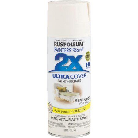 Rust-Oleum Painter's Touch Ultra Cover Aerosol Spray Paint, 12 oz, Multicolor