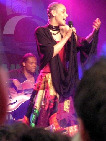 Mariza, stunning Portuguese Fado singer