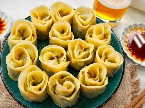 美しすぎる「薔薇餃子」を上手に作れる簡単レシピ!食卓に花を咲かせましょ♩ - macaroni